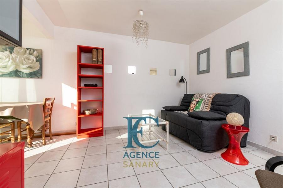 vente appartement centre sanary