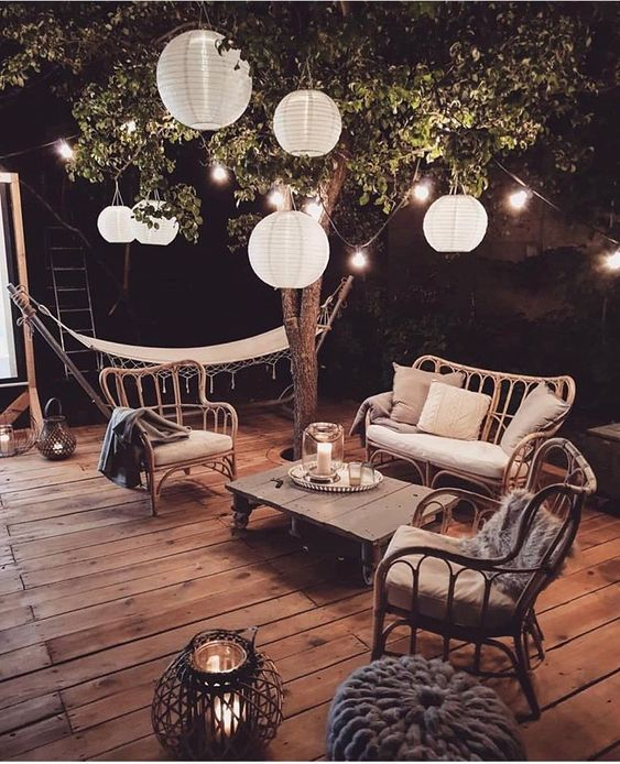 Aménagement terrasse lumière esprit cocooning fc agence sanary