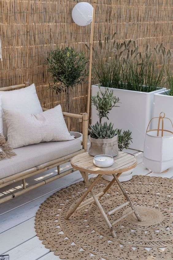 style méditerranéen aménagement terrasse